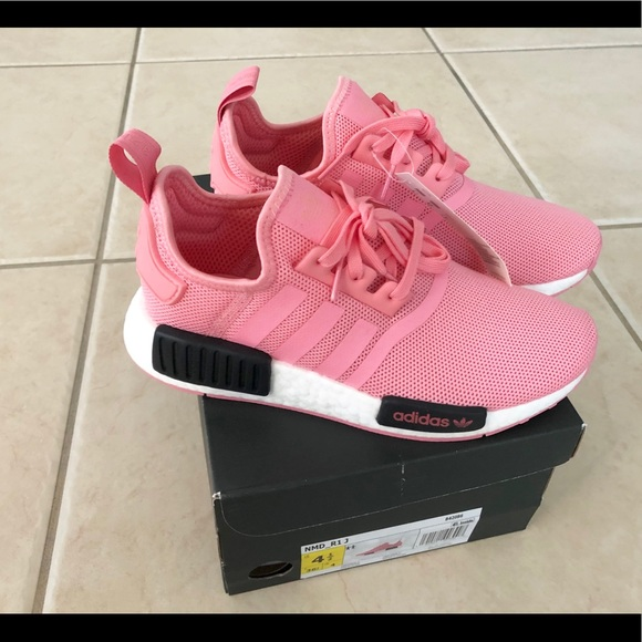 adidas Boy's Adidas Nmd R1 Sneaker, Size 6 M Pink from NORDSTROM | Shop